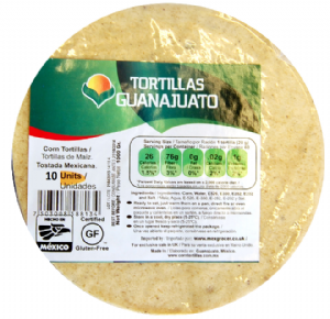Mexican Corn Tortillas | Buy Online at the Asian Cook Shop